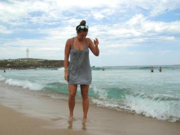 Ocean Australia sunglasses hair