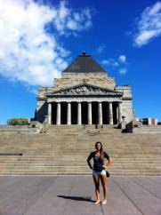 shrine of remembrance melbourne australia