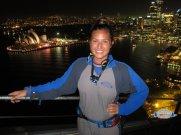 sydney climb opera house at night