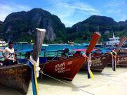phi phi island boats, amazing