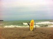 thailand beach and lifeguard