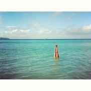 phi phi island handstand in water
