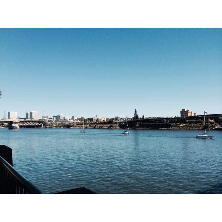Portland, Oregon waterfront