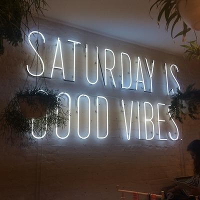 Saturday good vibes