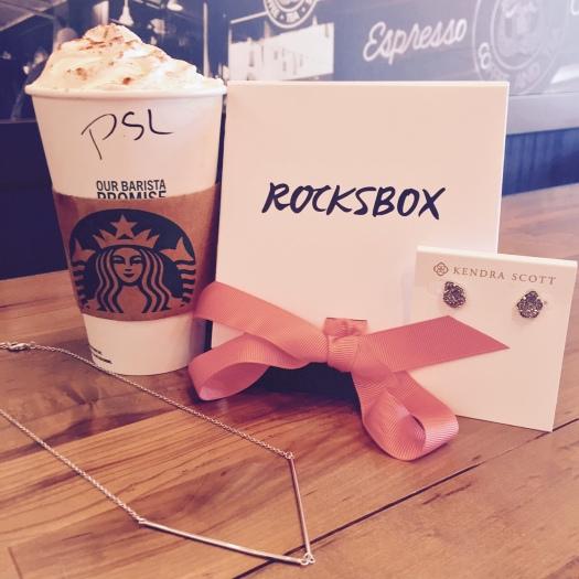rocksbox, starbucks, pumpkin spice latte, psl